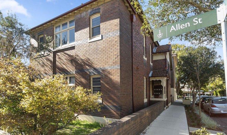 LEASED – 4/2 & 3/2 Allen Street, Glebe