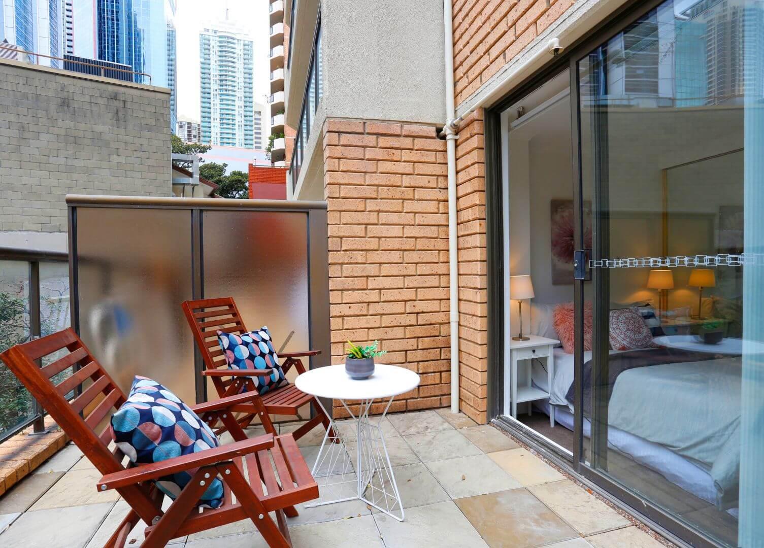 8-336 Sussex Street - Balcony