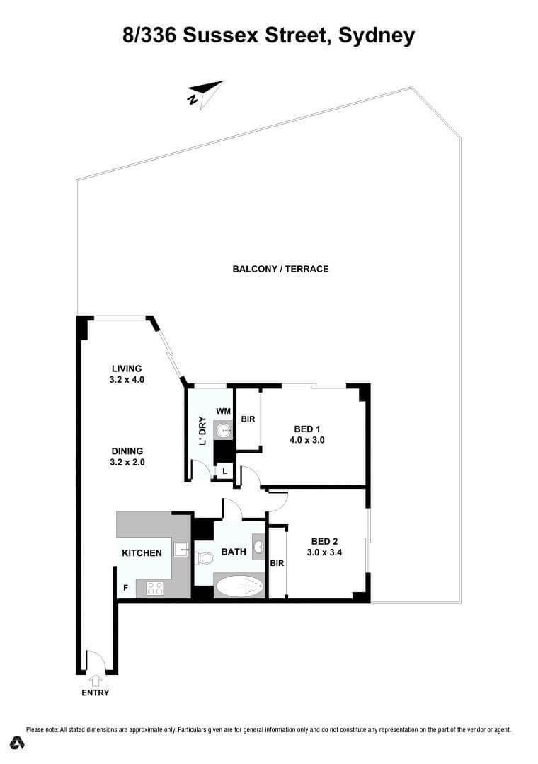 8-336 Sussex Street - Floorplan
